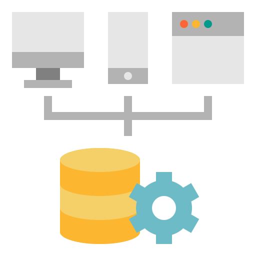 Server installation and configuration icon